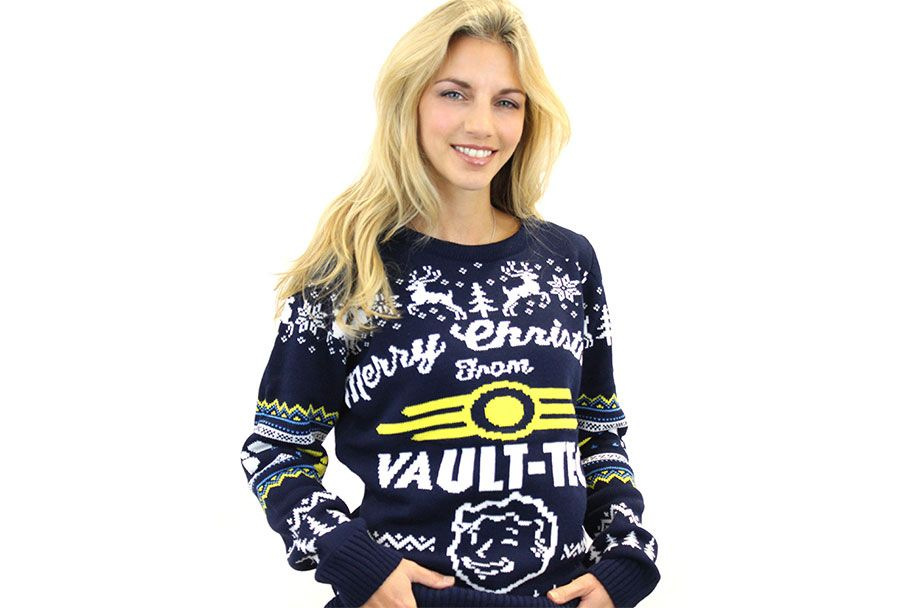 Vault Tec Christmas Sweater.Pin On Steven Universe
