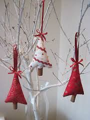 shabby chic christmas decorations to make - Google Search