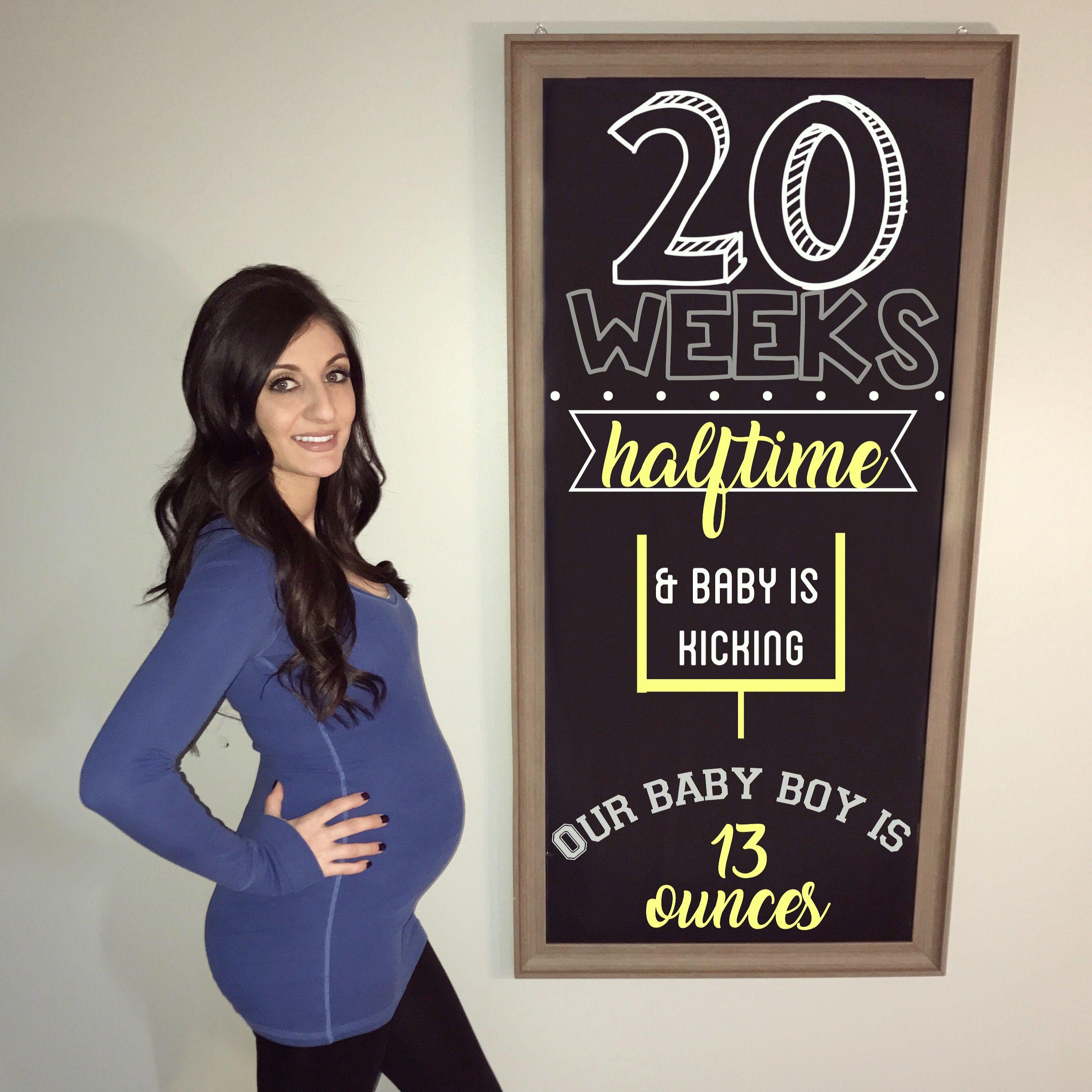 20 WEEK BUMPDATE #pregnancy #20weeks #20weekspregnant #pregnancychalkboard #bumpdate