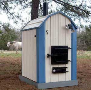 Outdoor Wood Furnace Wood Pellet Gas Stoves Heaters