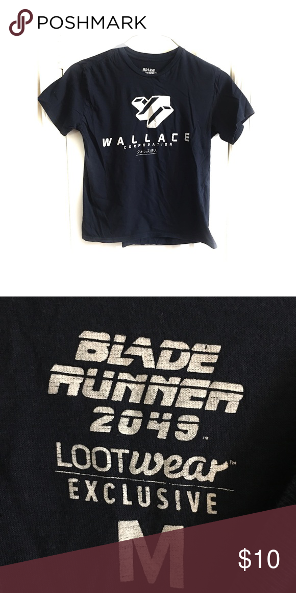 Lootcrate Blade Runner Wallace Corporation T Shirt Loot Crate T Shirt Blade Runner