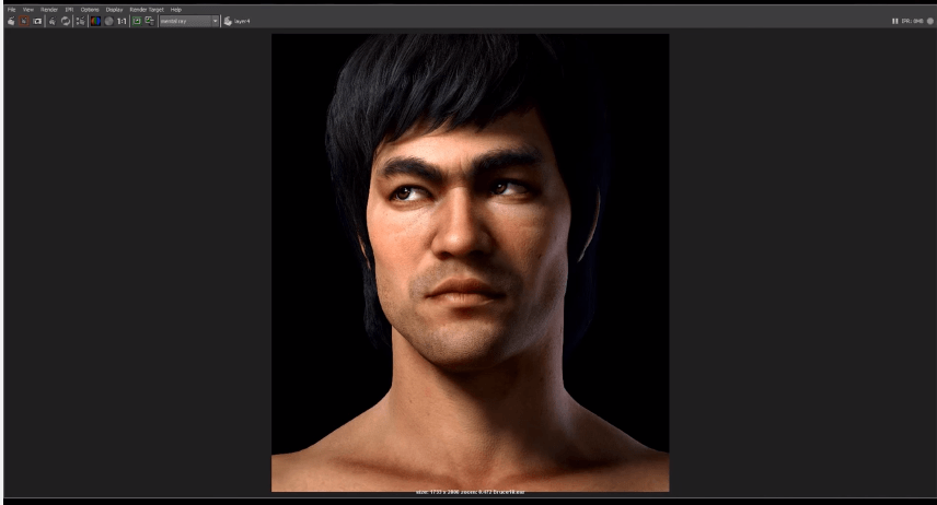 Realistic Character Making Of Brucelee Zbrush And Maya Tutorial