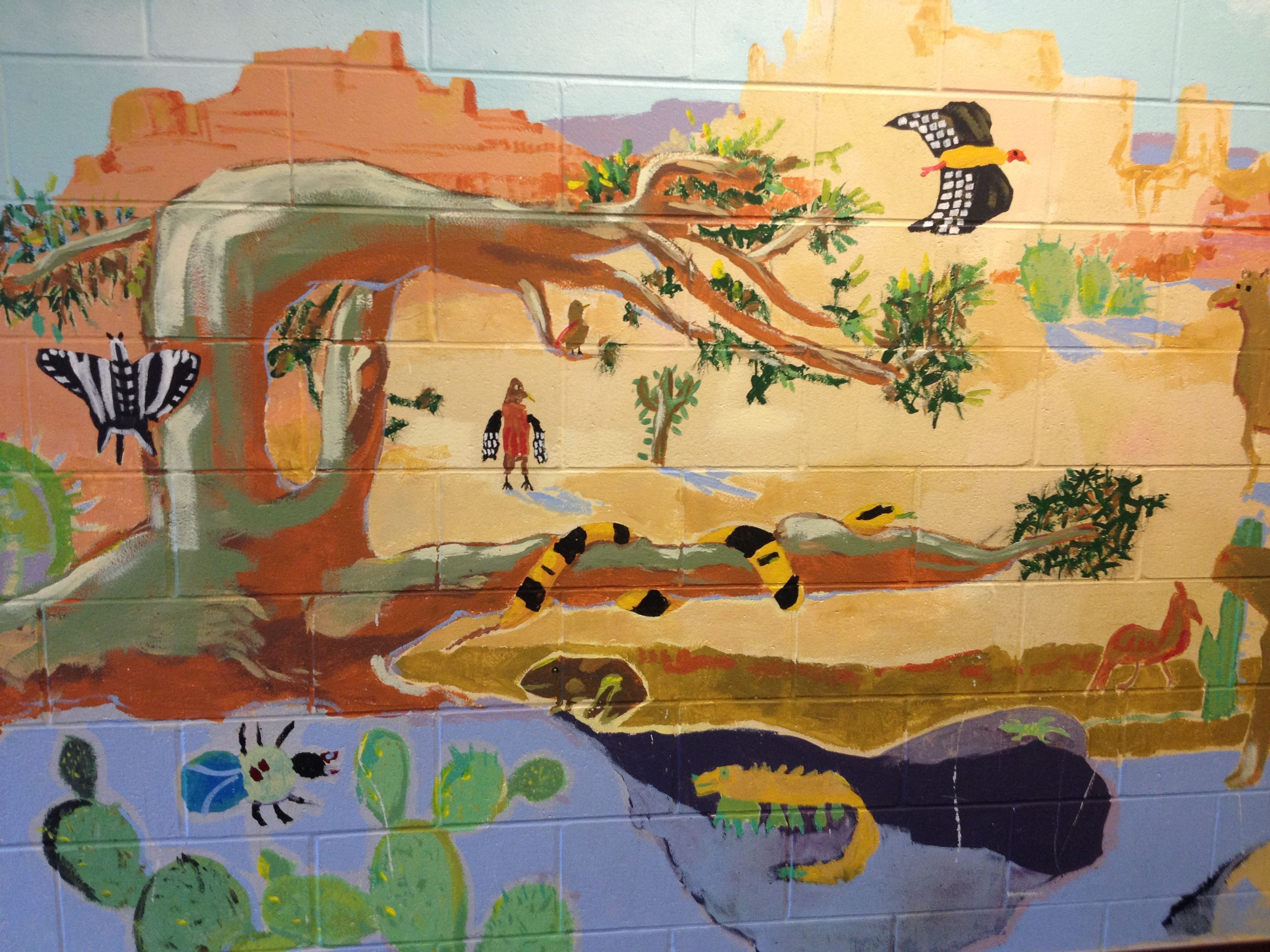 Batesville Primary School wall art | Batesville Primary School ...