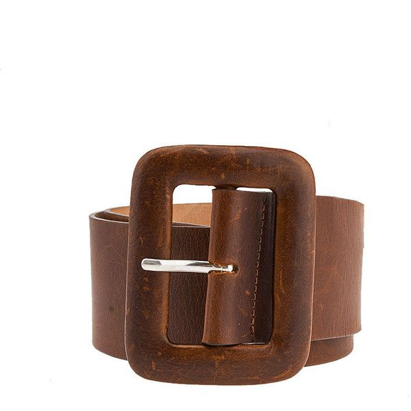 Pre-owned Streets Ahead Brown Leather Belt (325 UAH) ❤ liked on Polyvore featuring accessories, belts, streets ahead belts, streets ahead, stretchy belts and stretch belt
