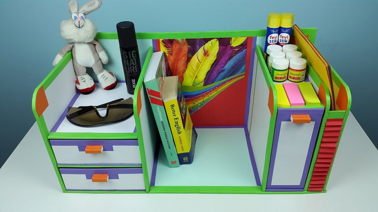 30+ Fun & Creative DIY Desk Organizer Ideas to Make Your