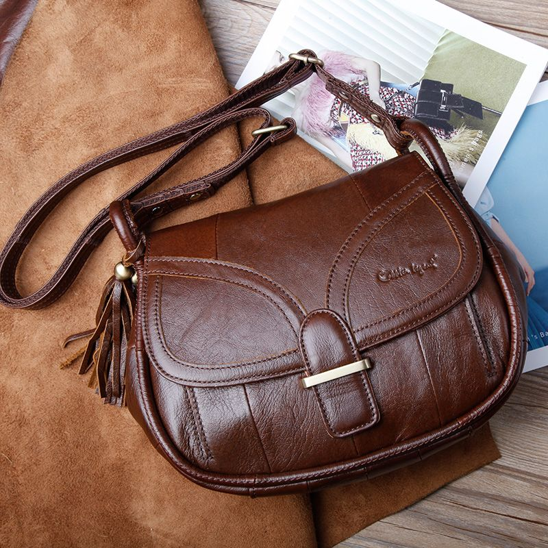 Cobbler Legend Brand Designer 2017 Women s Genuine Leather Vintage Single Shoulder  Bag Women Crossbody Bags Handbags For Ladies 32355581c9