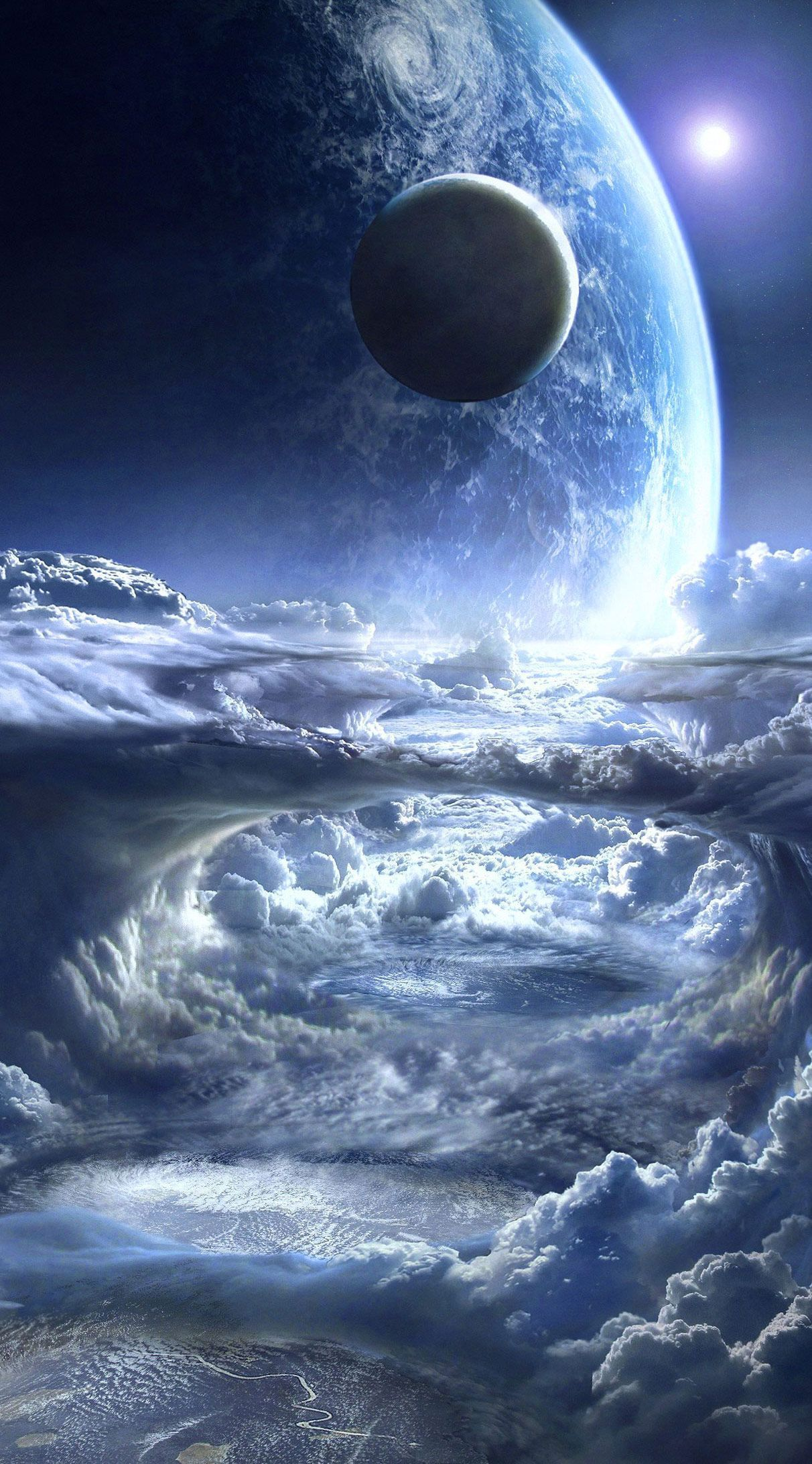 1212x2184 Sci Fi Wallpapers Hd And Widescreen Sci Fi Wallpapers 4k Wallpaper Sci Fi Wallpaper Wallpaper Space Planets Wallpaper