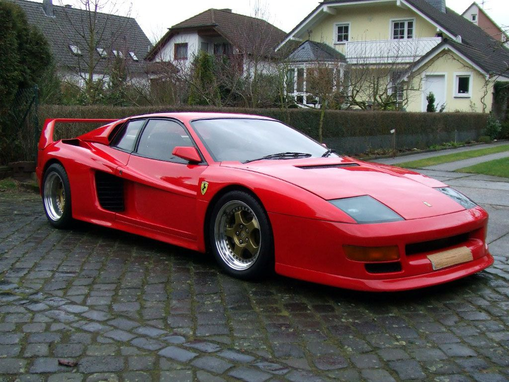 1984 koenig ferrari testarossa 1000 cv ferrari art in motion pinterest ferrari cars. Black Bedroom Furniture Sets. Home Design Ideas