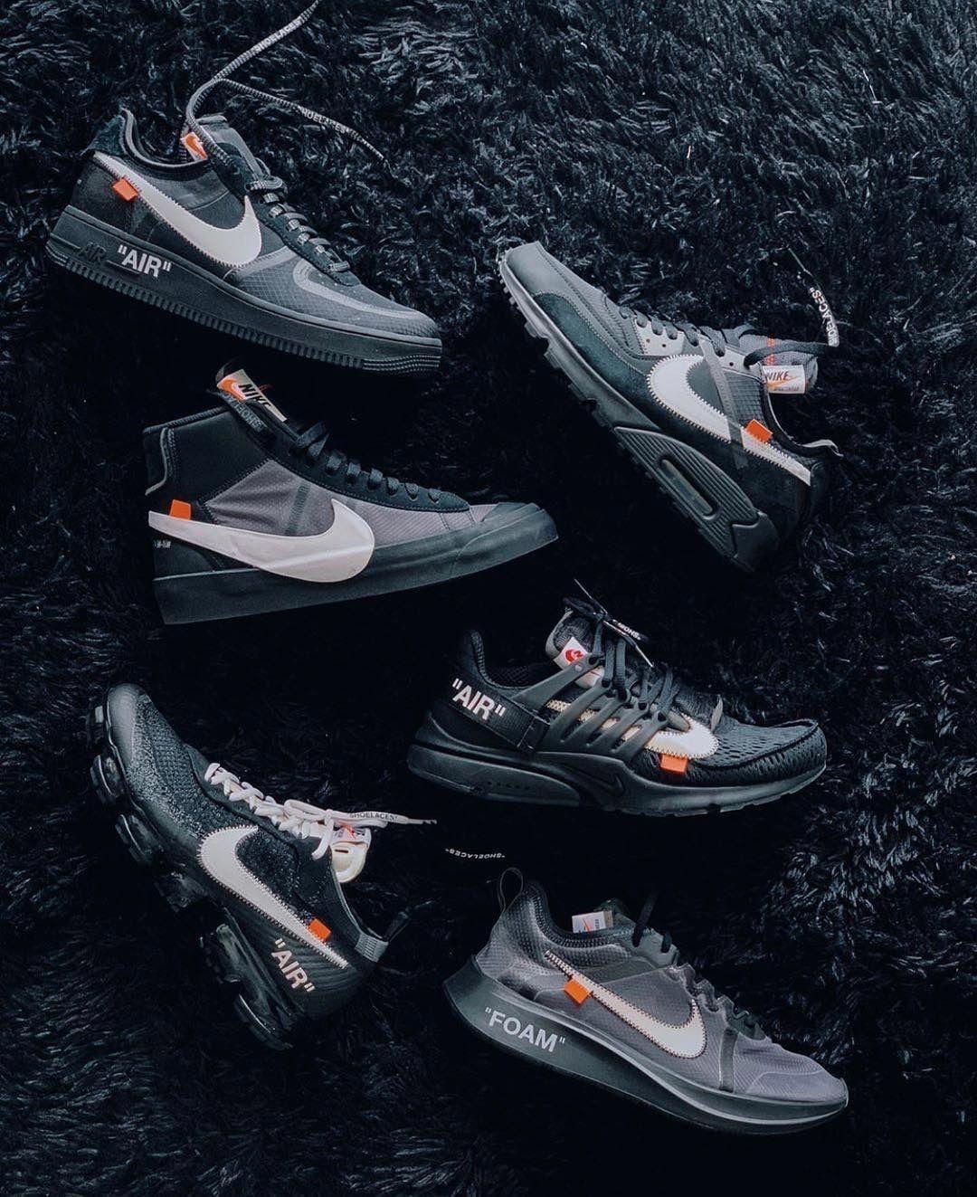 Off White Nike Air Force 1 Black AO4606 001 Info