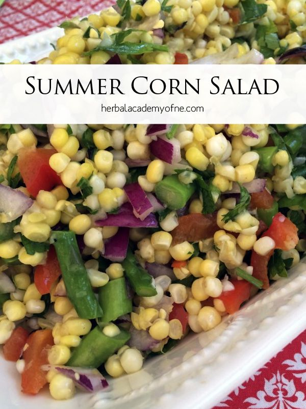 How to make a healthy, delicious corn salad this summer ...