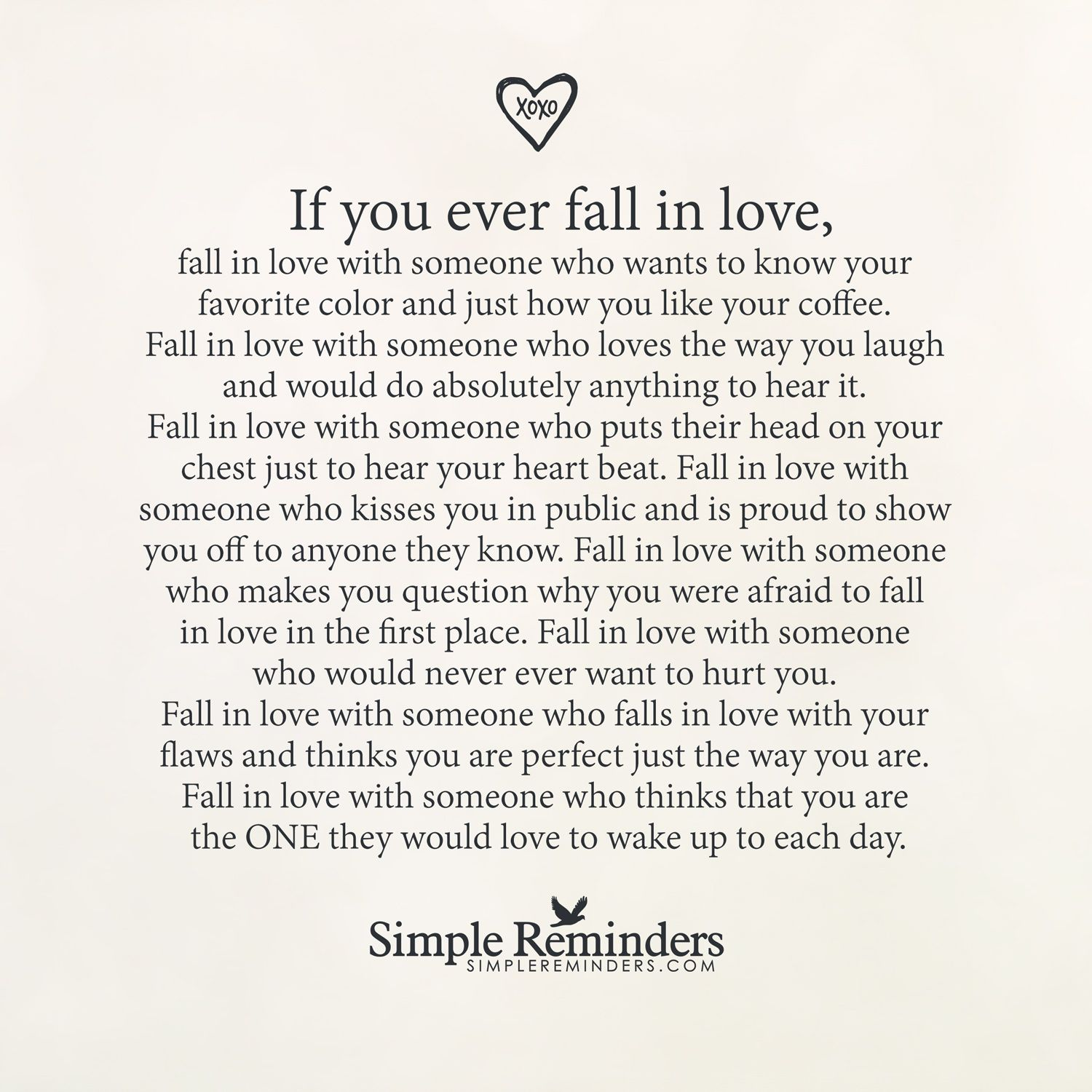Falling In Love If You Ever Fall In Love By Unknown Author Various Sayings