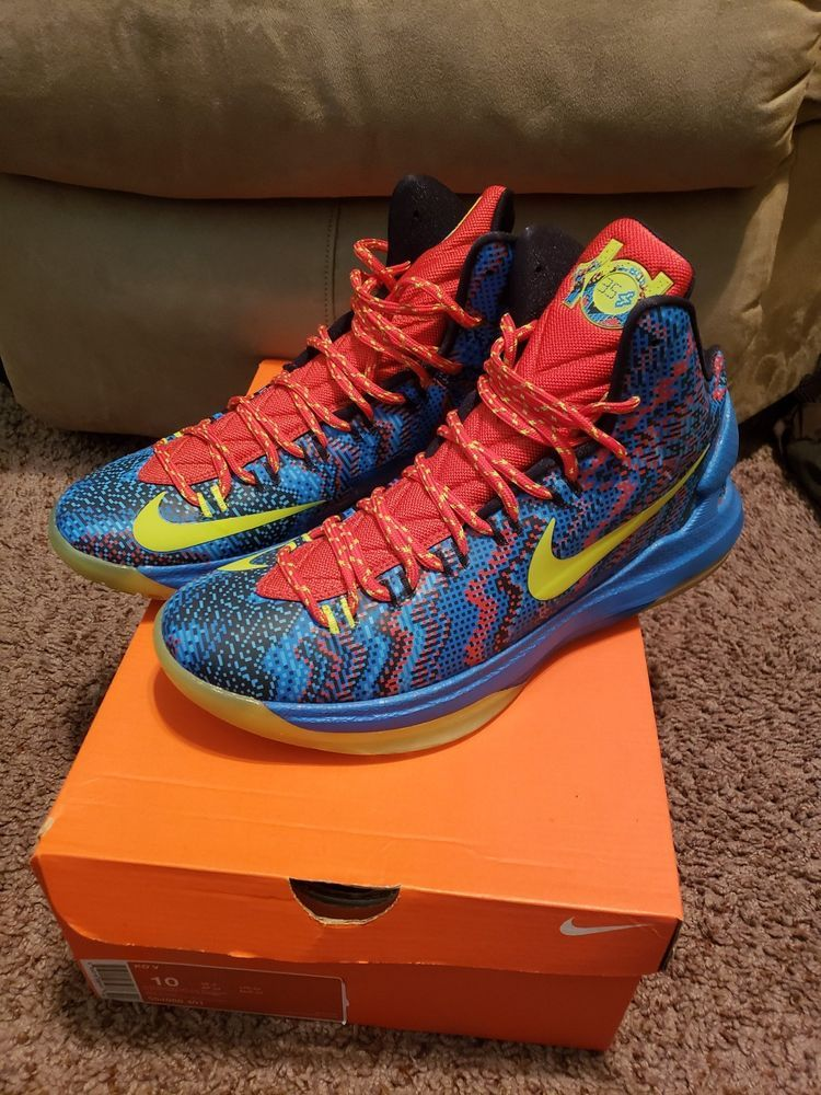 Nike Kevin Durant KD V 5 Christmas Shoes | Cool Men\'s Shoes ...