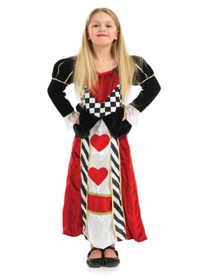 Girls TV/Film/Hollywood costumes are glamorous and fun. We have all the famous girl characters from Film and TV for your little superstar.  sc 1 st  Pinterest & A beautiful Queen of Hearts (Alice in Wonderland) Outfit special for ...
