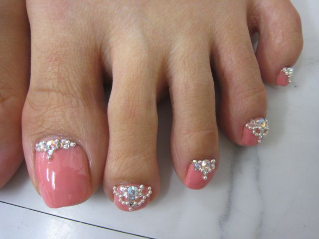 Toenail Designs: Rhinestone toenail designs - Toenail Designs: Rhinestone Toenail Designs Health, Wellness