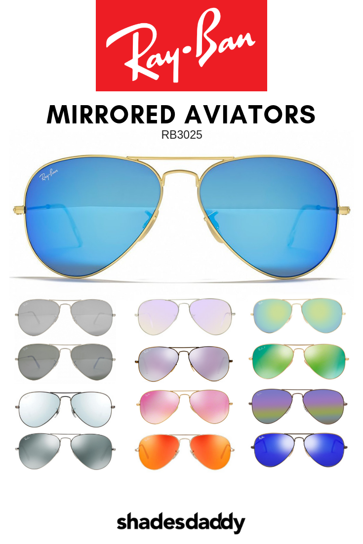 9718a8b6a9f Mirror your style with Ray-Ban Aviator Mirror sunglasses. Ray-Ban Aviator  Sunglasses