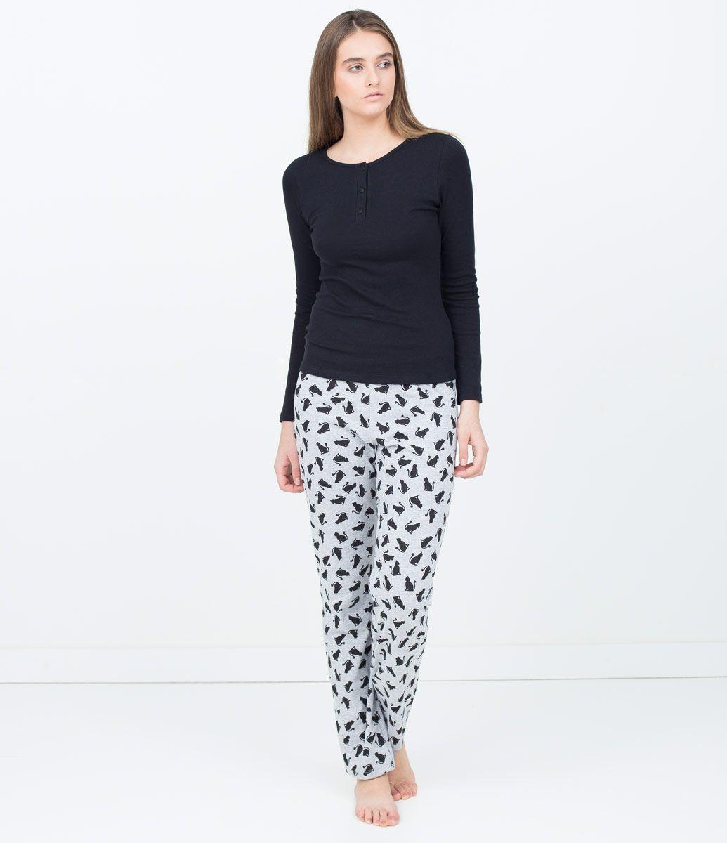 379c1de15384ec Pijama Feminino Estampado - Lojas Renner | pijamas♡ | Pijama ...