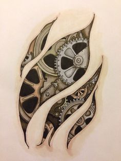 Image result for cogs tattoos