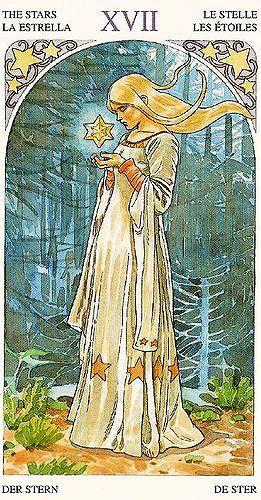The Star - Sorcerers Tarot | Tarot 17 the Star | Tarot tattoo, Star