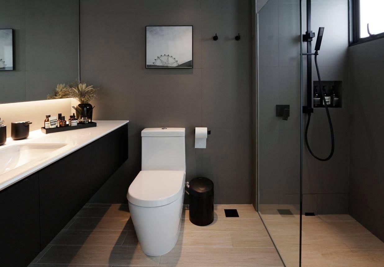 How To Create A Small Yet Luxurious Hdb Bathroom Bathroom Interior Design Scandinavian Bathroom Bathroom Interior