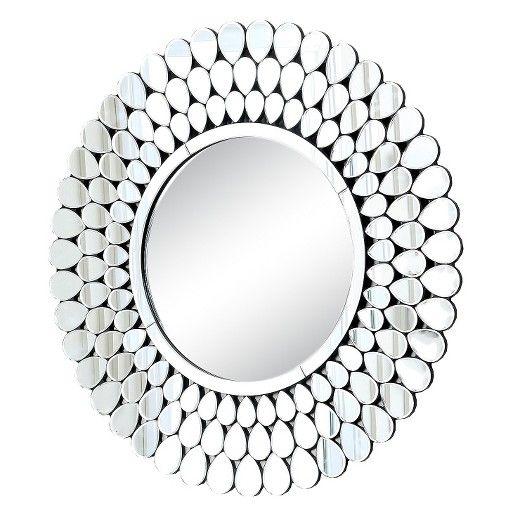 Image Result For Nicole Miller Round Mirror Mirror With Lights Round Mirrors Mirror Wall Decor