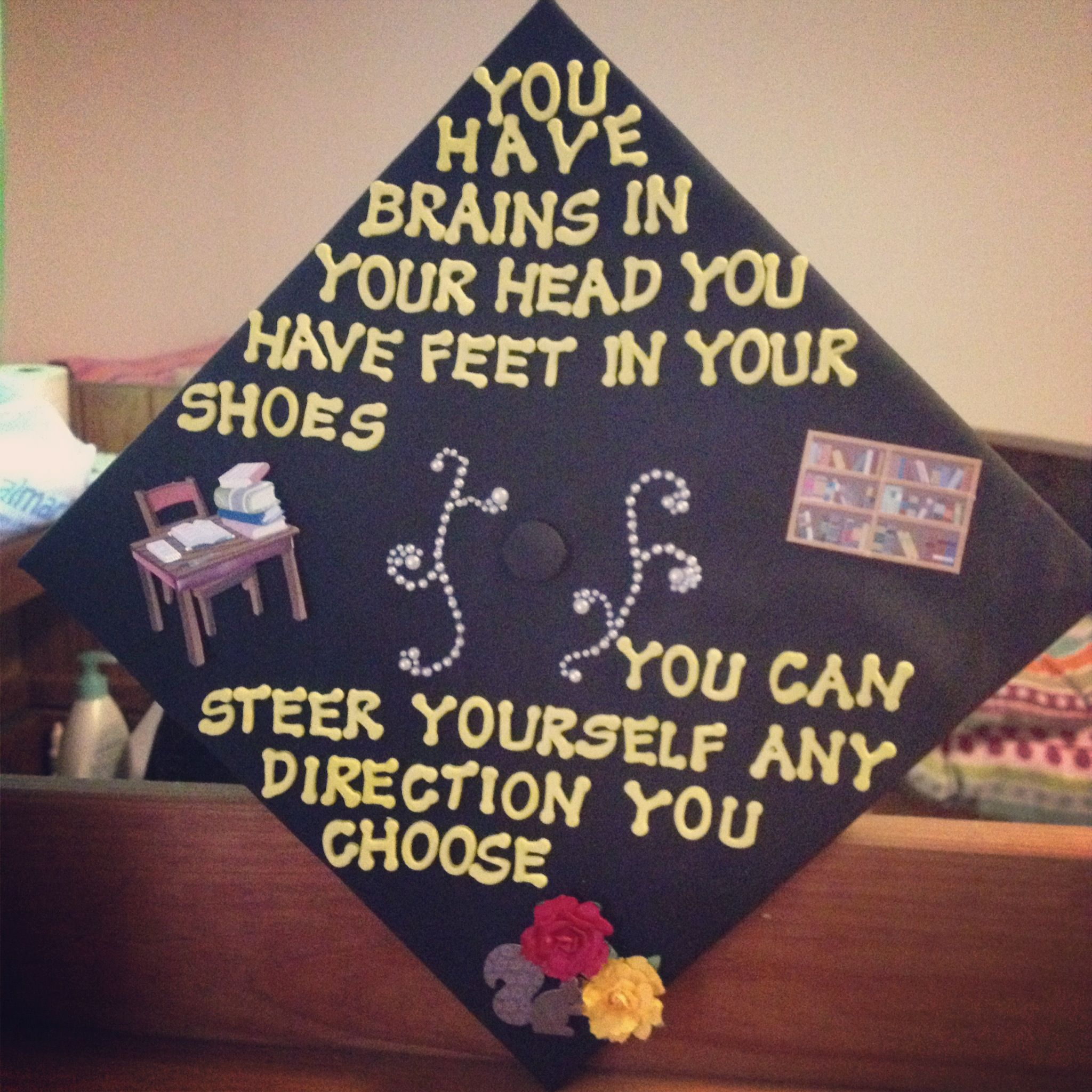 When life gives you lemons Graduation Cap Decorating Ideas