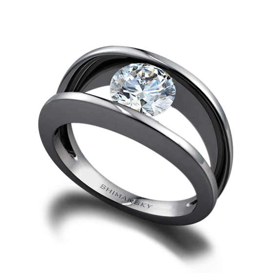 ffe2603a80048d Millennium Diamond Ring - Shimansky | Wedding Ideas | Rings, Diamond ...