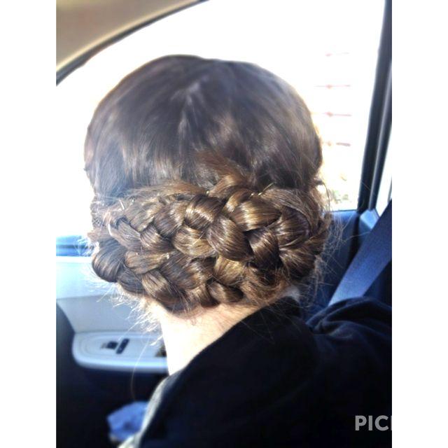 Ich will, dass diese Frisur für Shereen's Hochzeit, und dann ist es perfekt. Etwas, dass in der Einfachheit. ;)