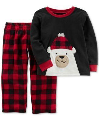ab840f1f2507 Carter s 2-Pc. Polar Bear Pajama Set