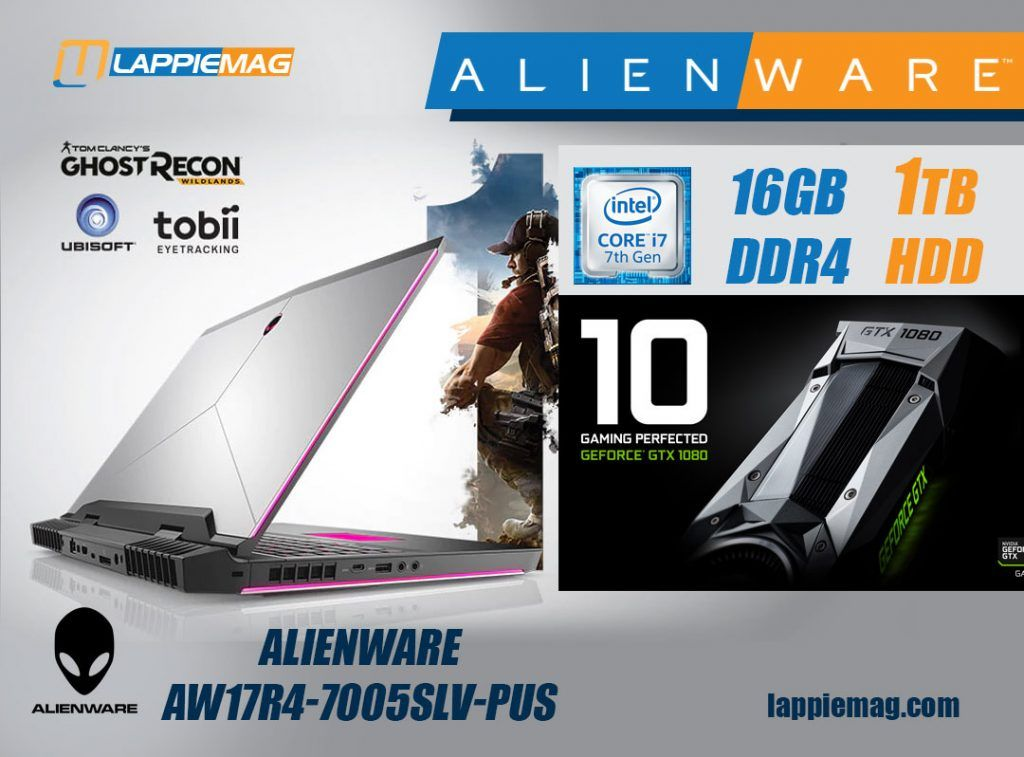 Alienware is a well-known laptop brand and the Alienware
