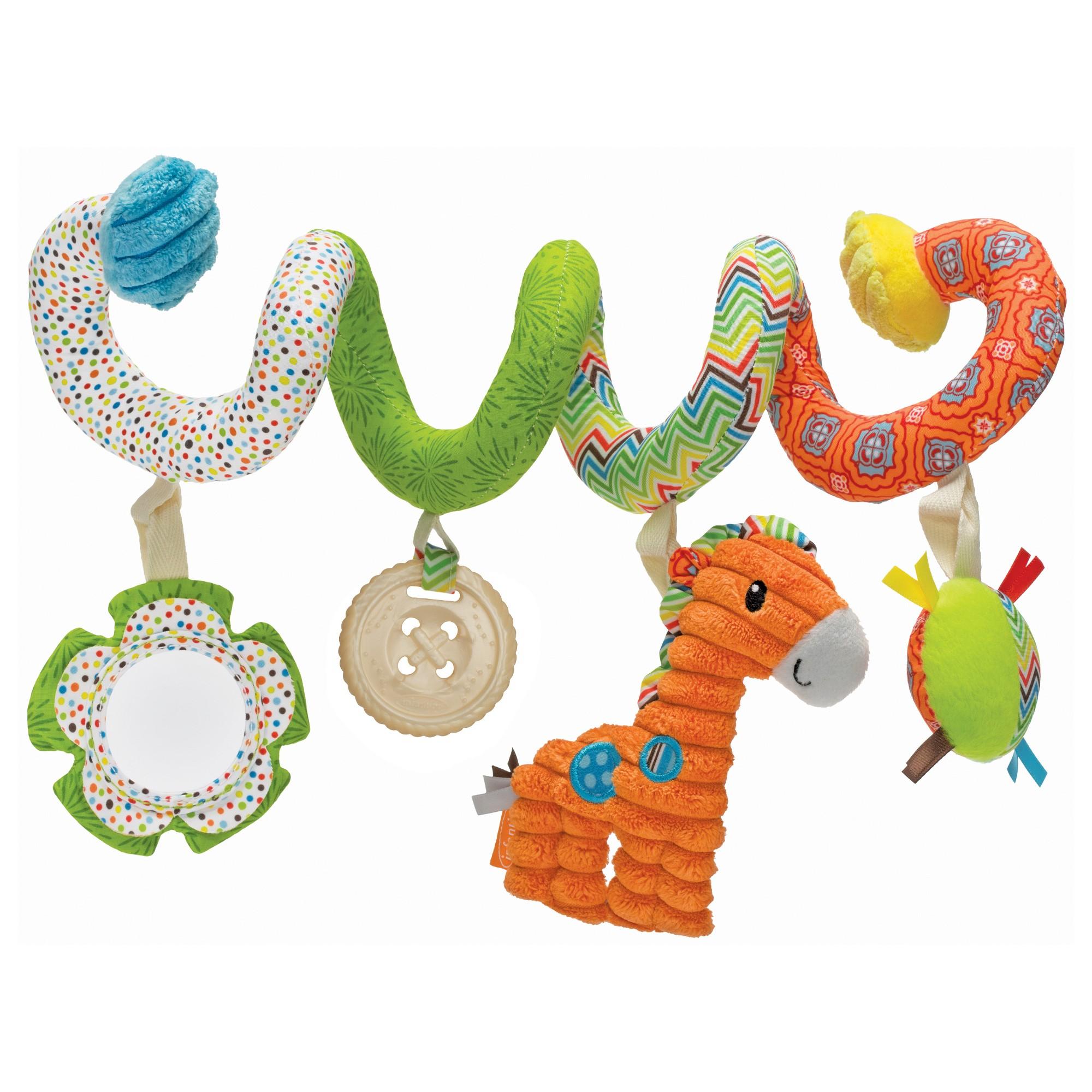 Car hanging toys  Infantino Go GaGa Spiral Car Seat Activity Toy  Activity toys Car