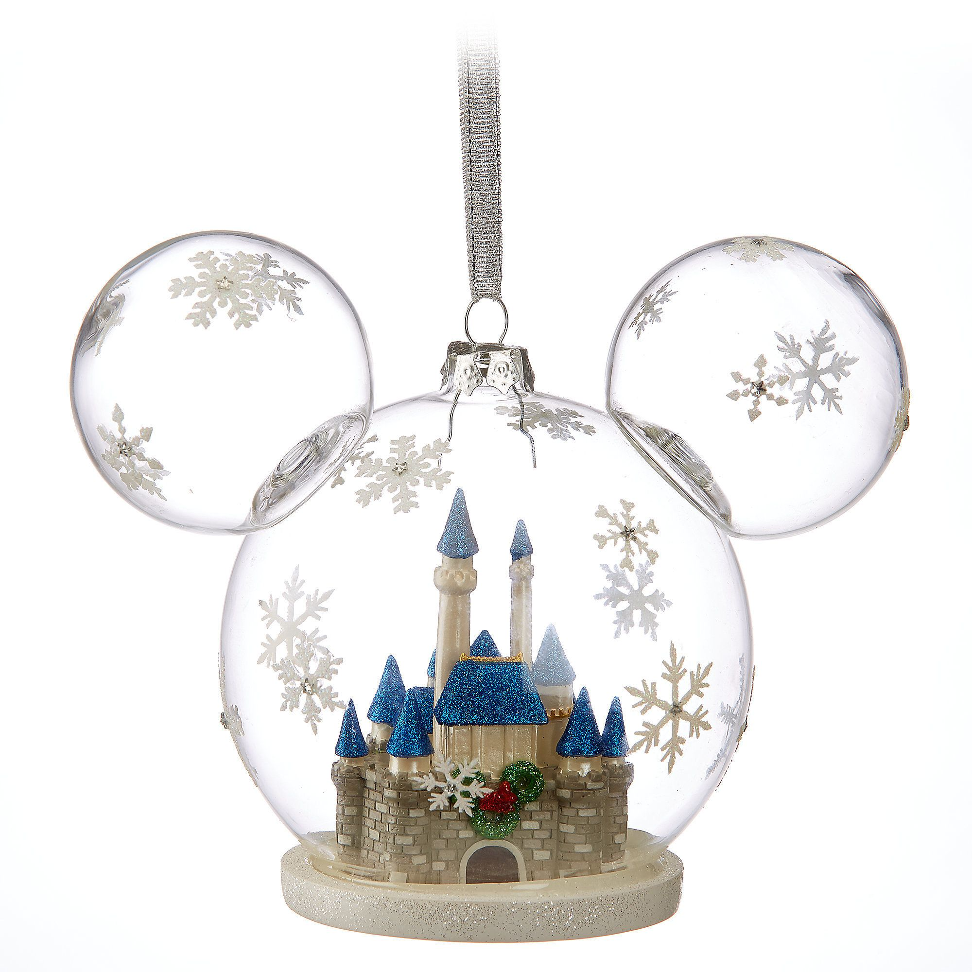Mickey Mouse Fantasyland Castle Ornament   Christmas   Pinterest ...