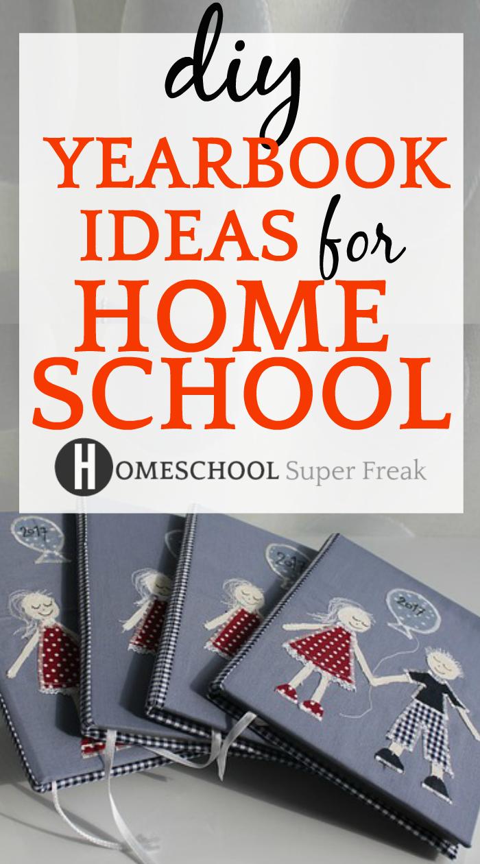 Diy Yearbook Ideas For Homeschool Free Yearbook Templates