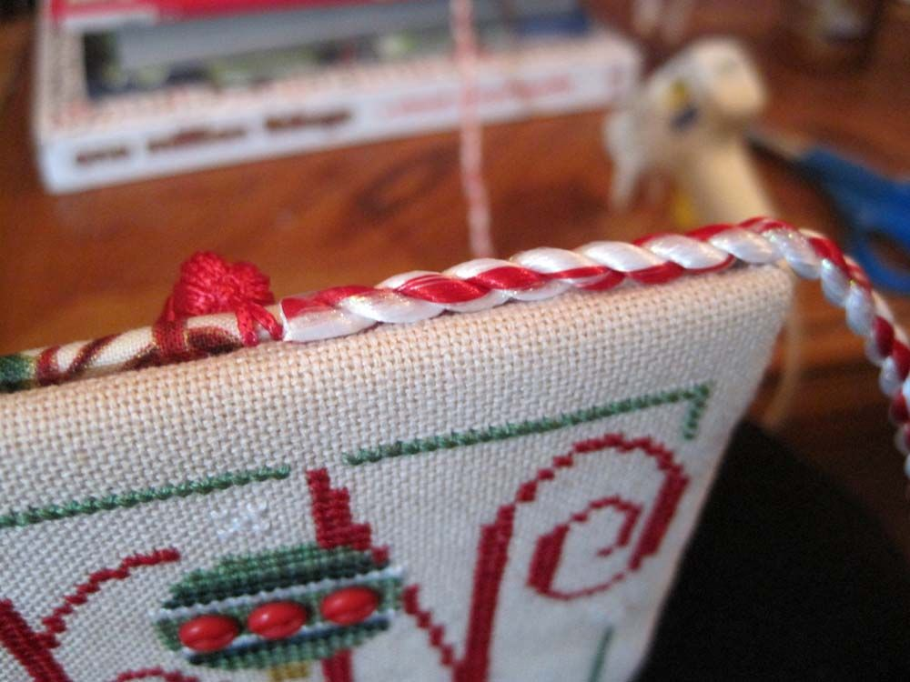 Hooked on Stitches: Ornament Tutorial finishing technique | Cross ...