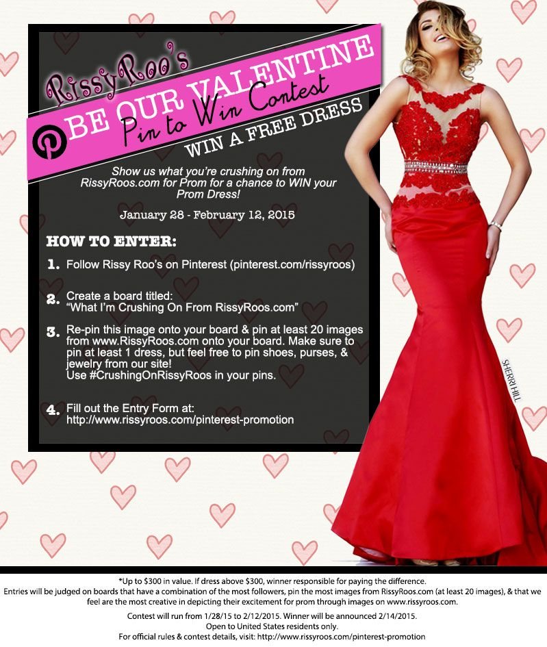 Win A Free Prom Dress From Pinterest Prom Free Prom And Detail