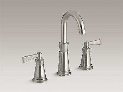 KOHLER | K 11076 4 BN | Archer® Widespread Bathroom Sink Faucet