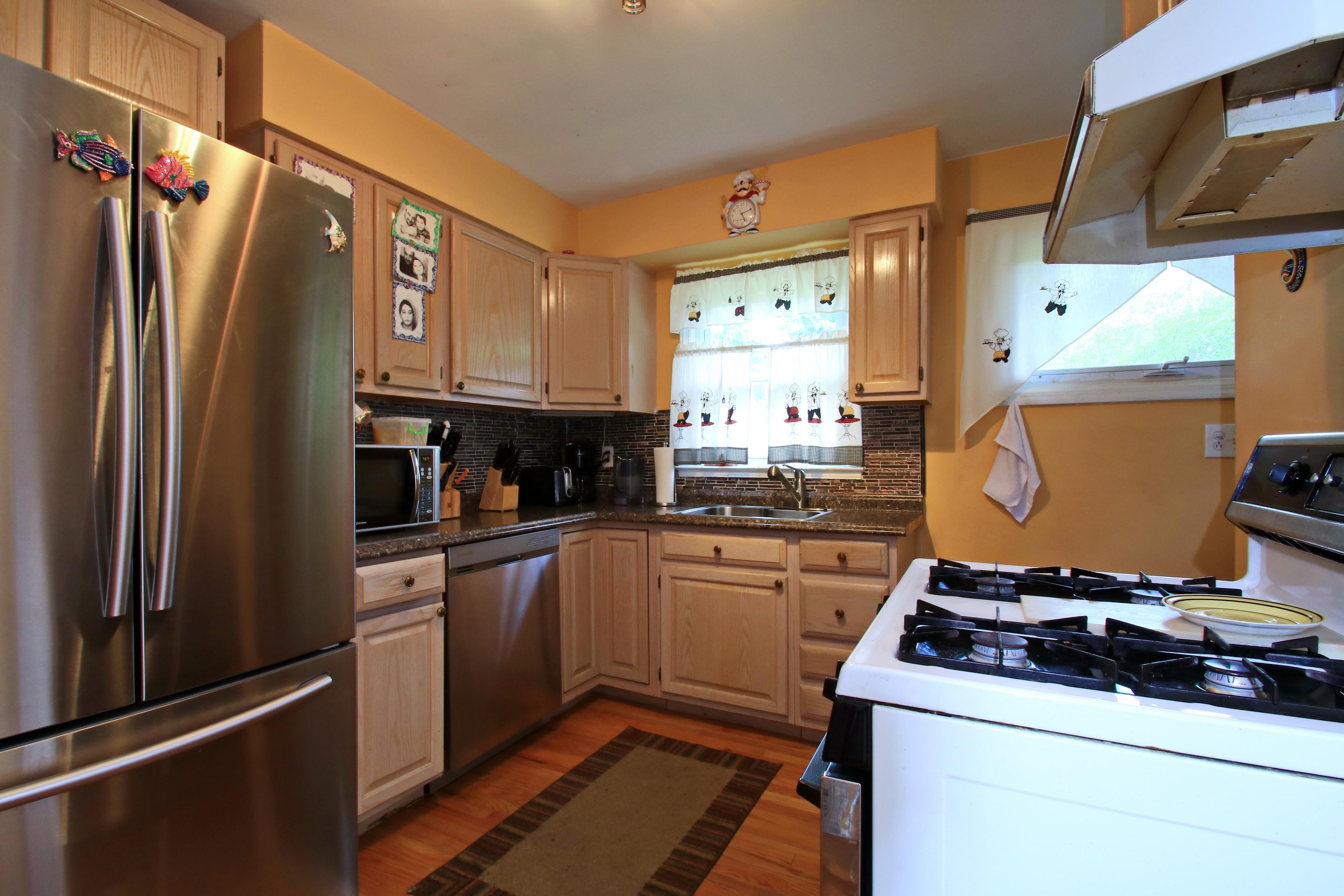 Updated, Modern Kitchen
