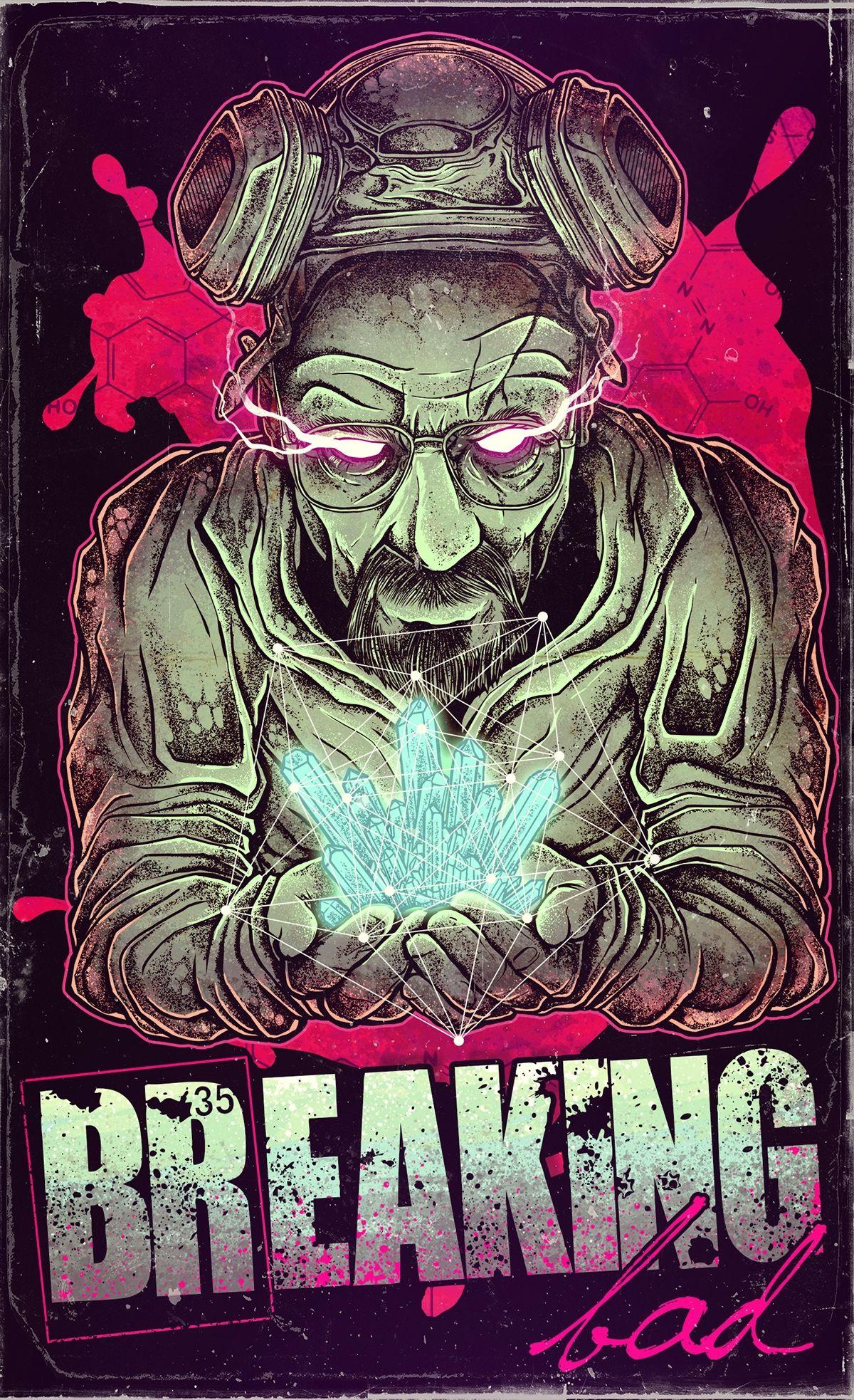 Breaking Bad Fan-Art on Behance | Digital Art | Pinterest ...