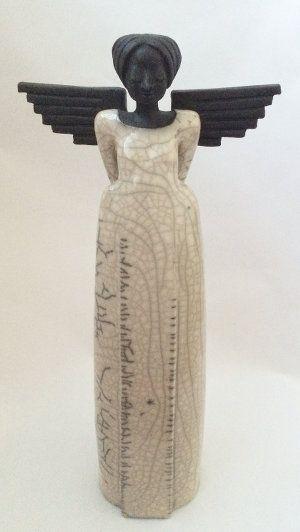 Ein Engel seinu2026 Keramik Kunst Blog Stylu0027n Pottery Pinterest - figuren aus ton selber machen