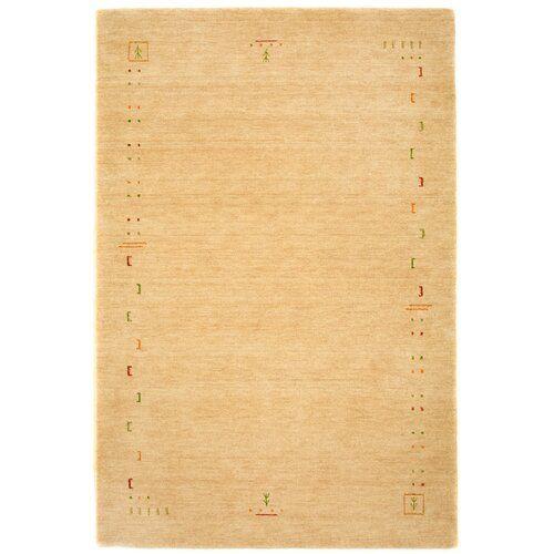 Handgefertigter Teppich Stevie in Beige Bloomsbury Market Teppichgröße: Läufer 80 x 400 cm