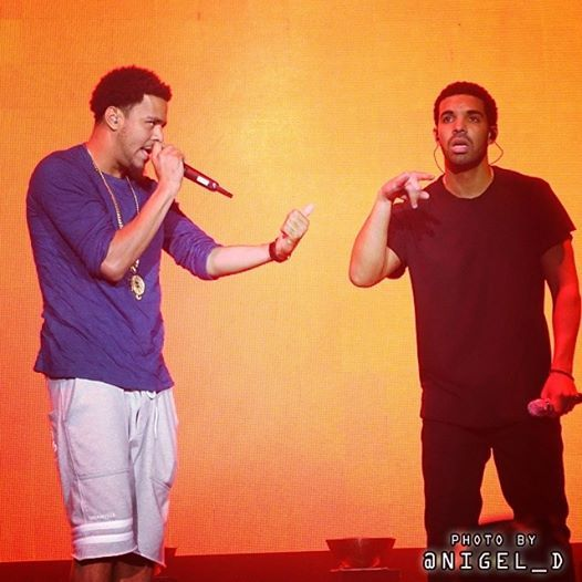 Video: Drake Shouts Out Kendrick Lamar At OVO Fest 2014