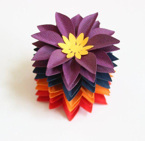Simple Paper Flower Table Decorations Paper Decor Paper Flowers