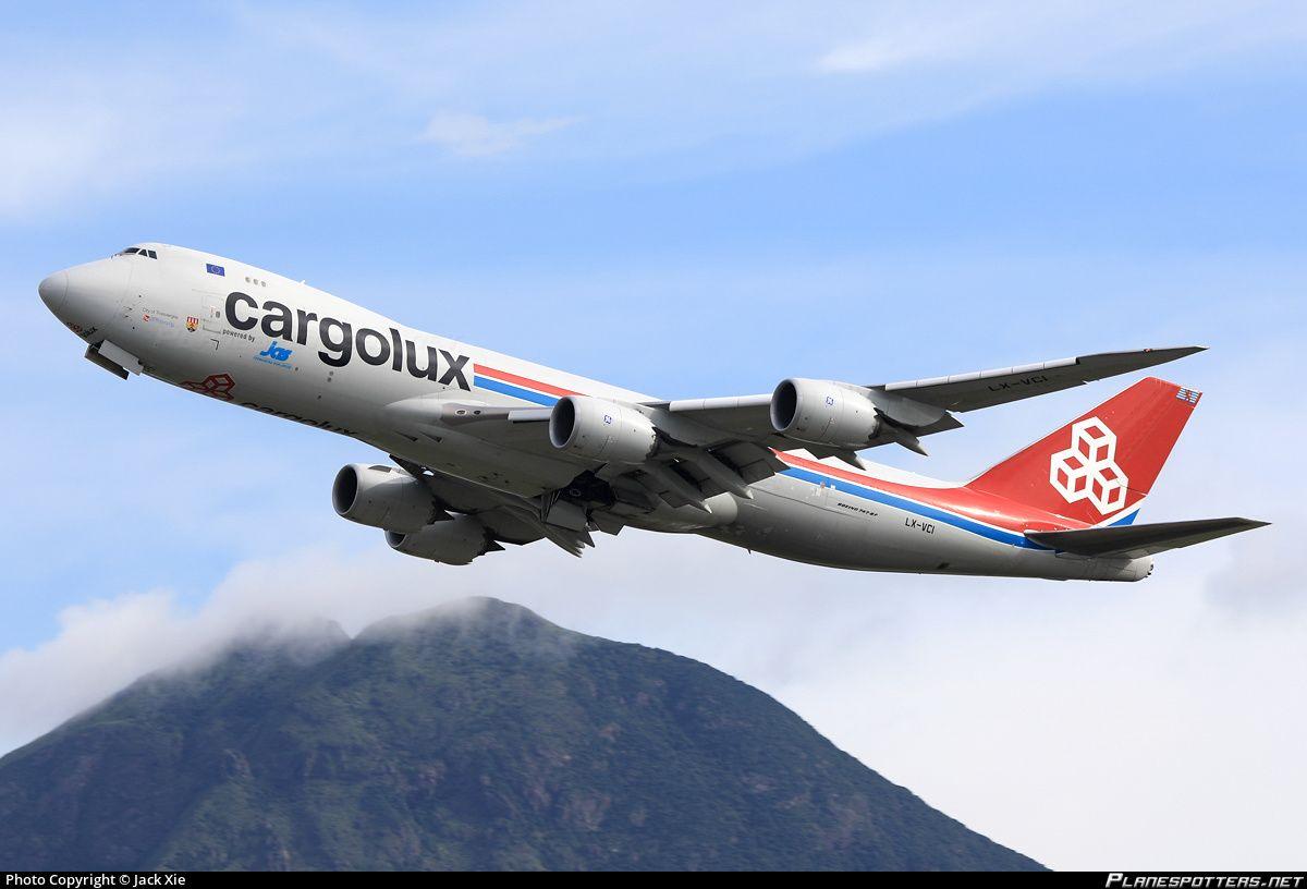LX-VCI Cargolux Airlines International Boeing 747-8R7F photographed at Hong Kong - Chek Lap Kok International (HKG / VHHH) by Jack Xie