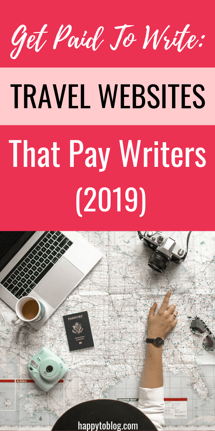 Get paid to write: Travel websites that pay freelance writers