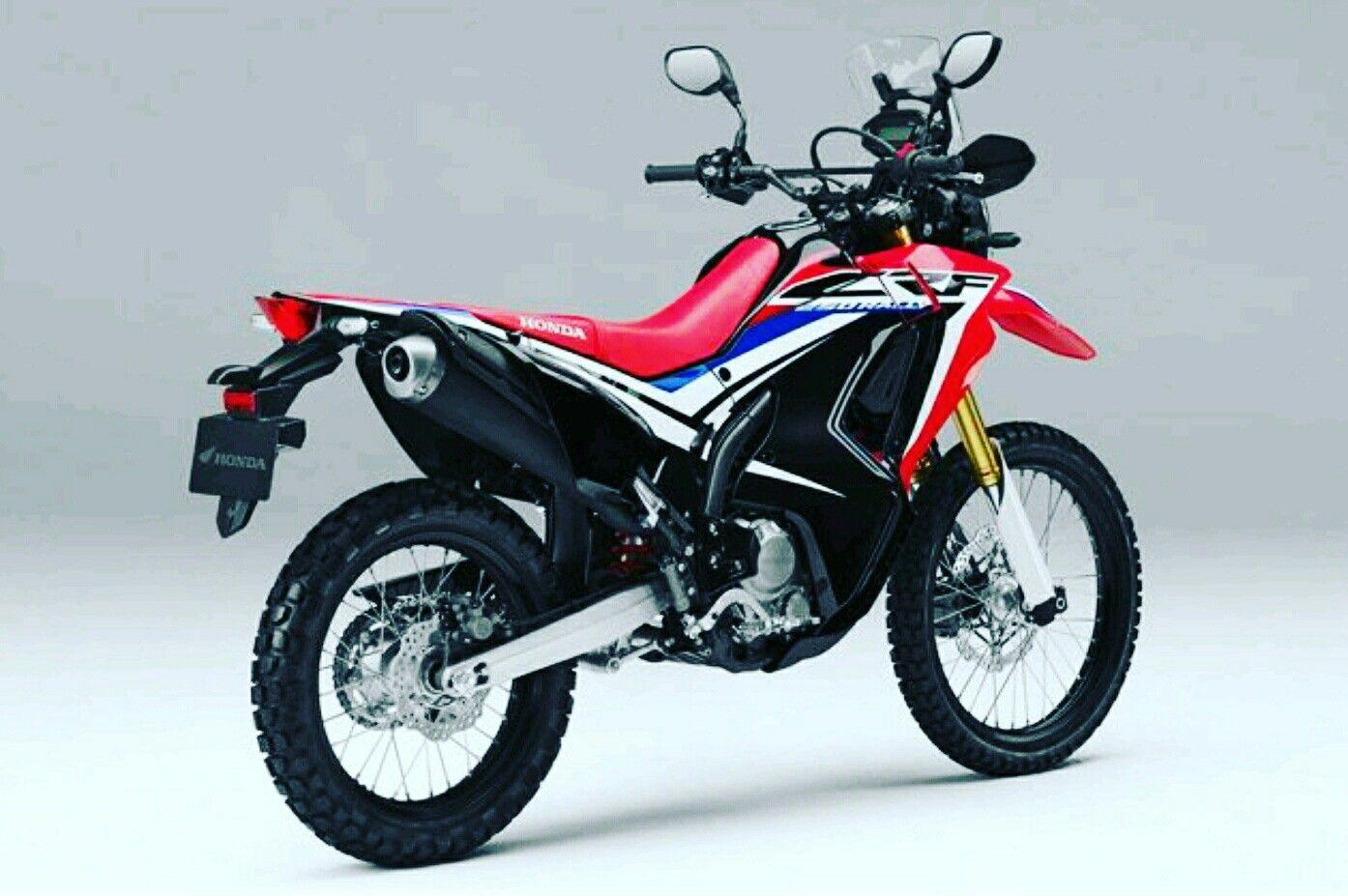 Nueva Honda CRF250L Rally. Motos personalizadas, Motos