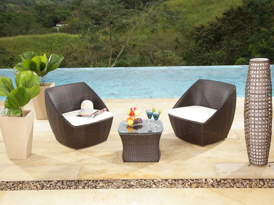 Terraza galeria vive tu casa homecenter pinterest for Muebles para intemperie
