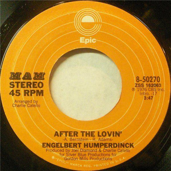 After The Lovin By Engelbert Humperdinck Oldies Music Music Memories 70s Music