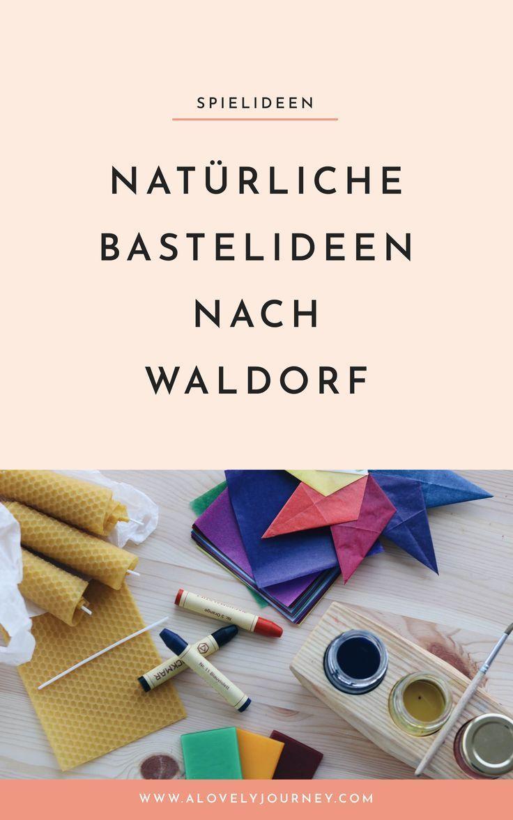 Weniger Aber Wertvoll Nachhaltiges Bastelmaterial Nach Waldorf