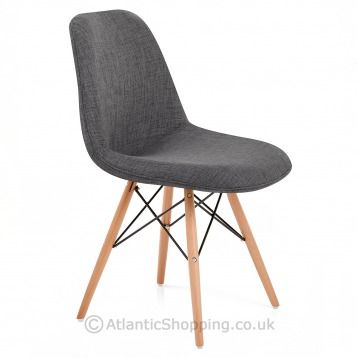 eames style chairs uk. cushioned for quality comfort, our padded eames style dsw chair comes in either light or chairs uk