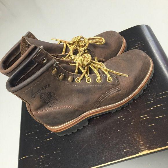 Selling this The Original Chippewa Boots Vibram sz 5. in my Poshmark closet! My username is: msbuggie. #shopmycloset #poshmark #fashion #shopping #style #forsale #Vibram #Shoes