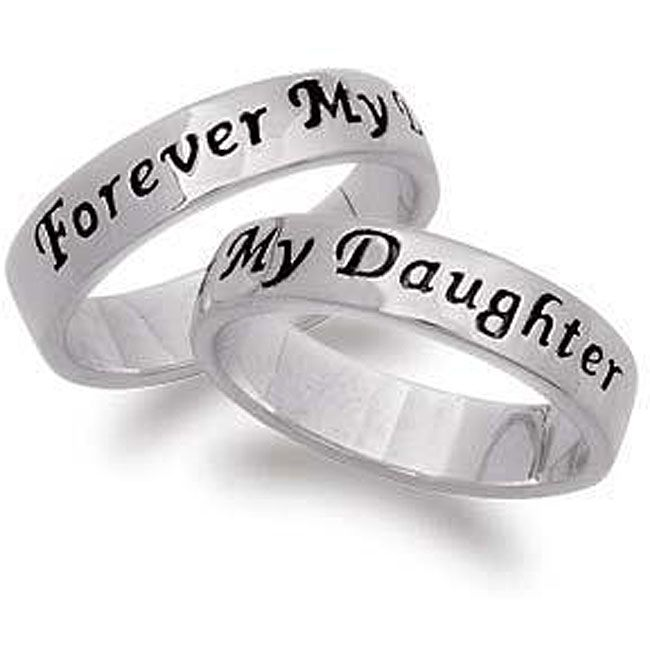 Sterling Silver Daughters Purity Ring Sterling silver